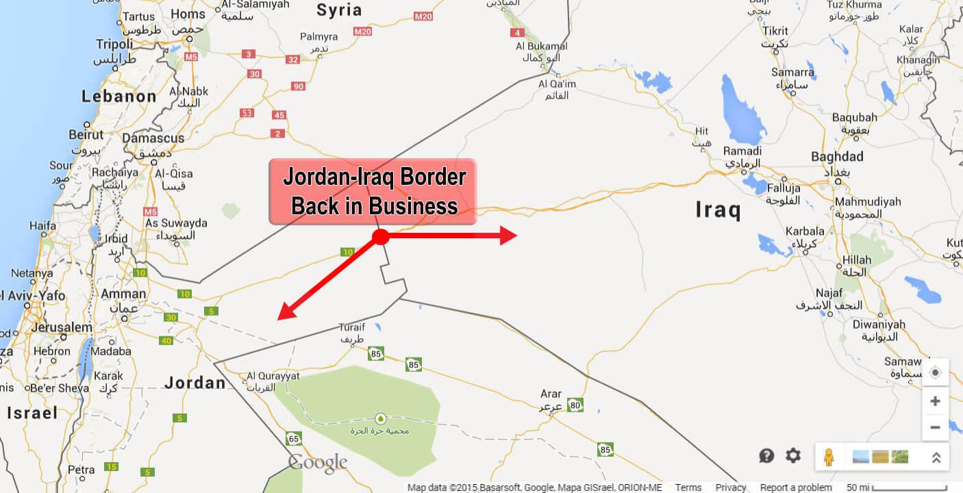 Riaperto valico Trebel spedizioni iraq
