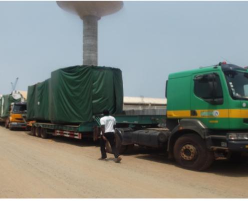 shipment to ghana