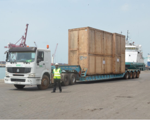 shipments to africa
