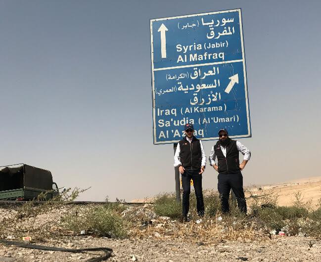 spedizioni iraq giordania